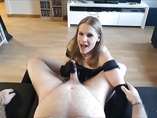 Julia X POV Blowjob